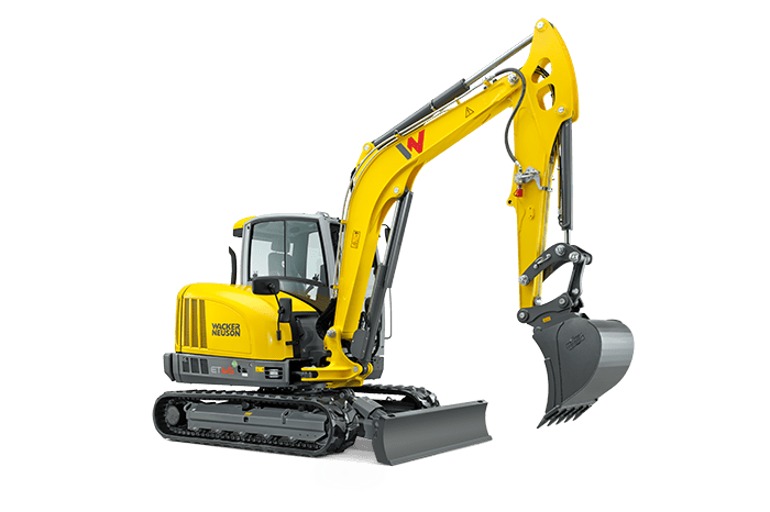 ET65 small turn excavator – powerful and agile