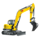 Tracked Conventional Tail Excavators - ET90