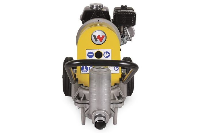 Front view of PDI 2A motor pump