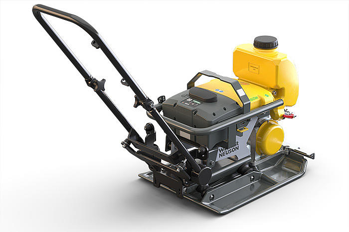 Wacker Neuson AP1850e - the worldwide only battery driven vibratory plate