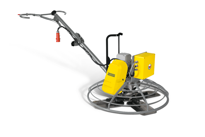 The emission-free alternative: The CT range of trowels: