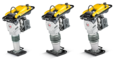 4 stroke rammer: Long service life and low oil consumption
