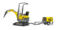 1 excavator, 2 drives: 803 dual power
