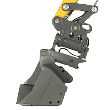 quickhitch system for mini, compact and wheeled excavators - EASY LOCK