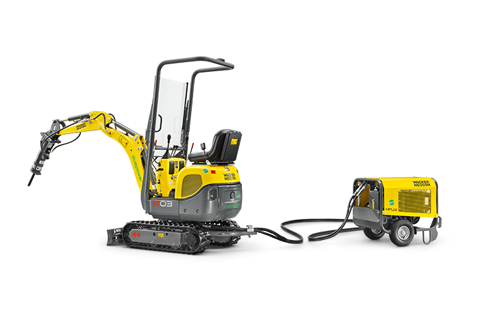 Wacker Neuson 803 dual power HPU8